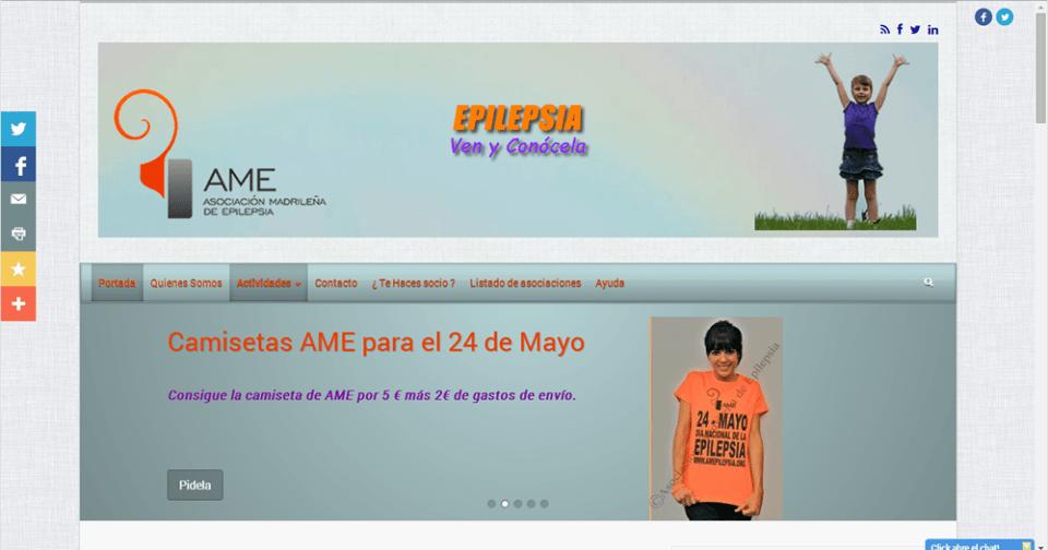 AME Asociación Madrileña de Epilepsia