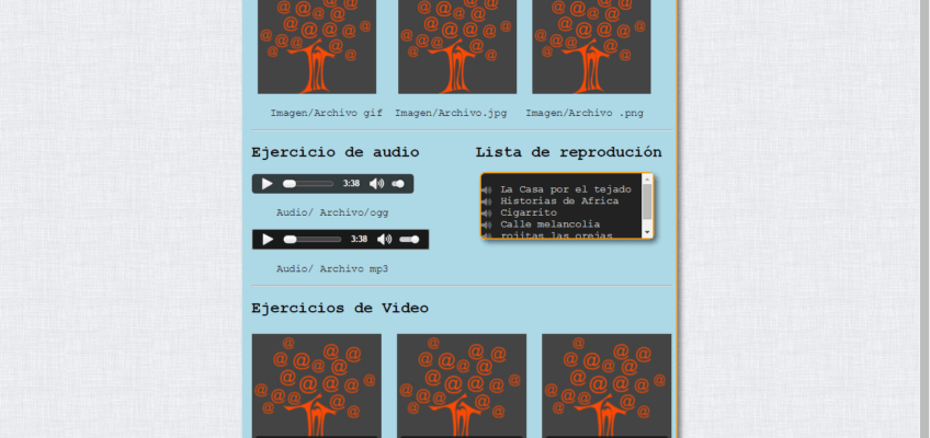 Tutorial de Multimedia