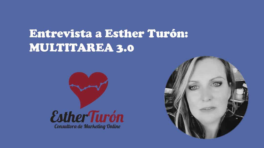 Esther Turón multitarea