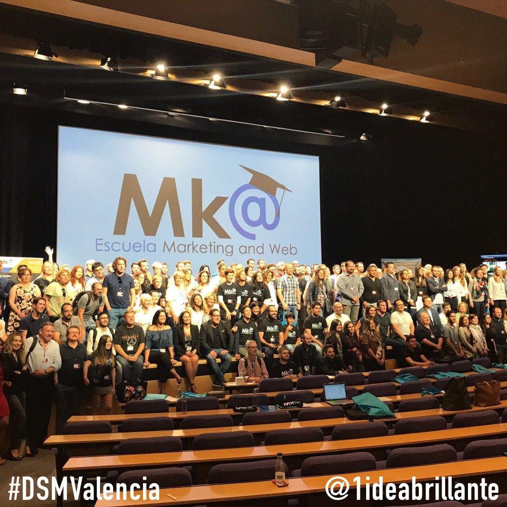 Foto de ponentes-asistentes al #DSMValencia